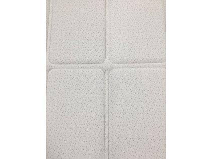 Vrchní matrace (přistýlky) VISCOPUR® bamboo snow 8 cm
