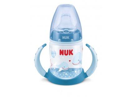 NUK First Choice lahvička na učení PP Baby Glück, silikon, 150 ml