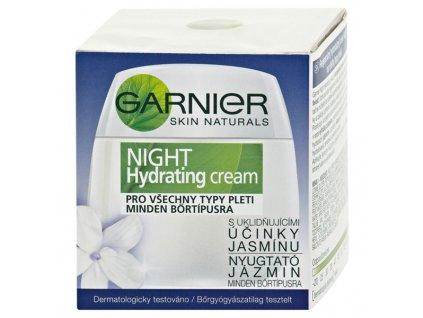 Garnier Skin Naturals Essentials noční krém s uklidňujícími účinky jasmínu 50 ml