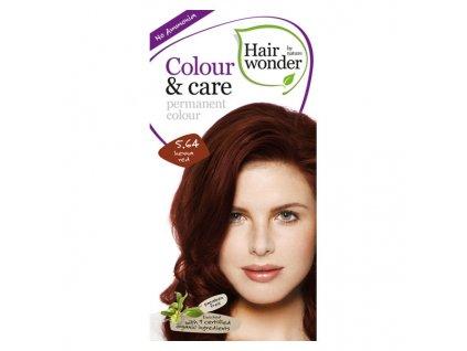Hairwonder Přírodní dlouhotrvající barva Červená henna 5.64 100 ml