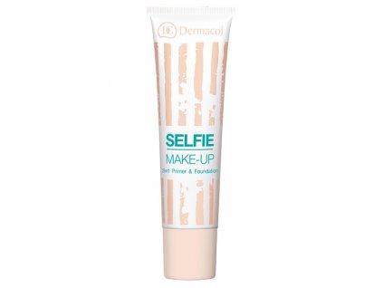 Dermacol Dvoufázový make-up Selfie Primer & Foundation 25 ml