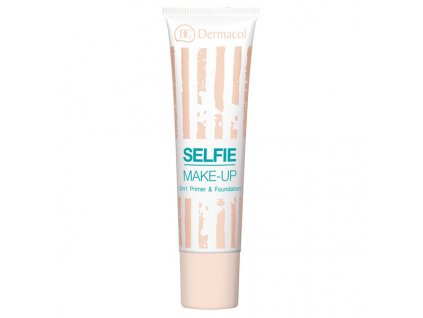 Dermacol Dvoufázový make-up Selfie Primer & Foundation 25 ml