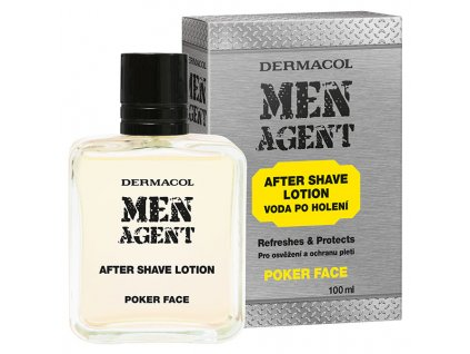 MEN AGENT After Shave POKER KOMP