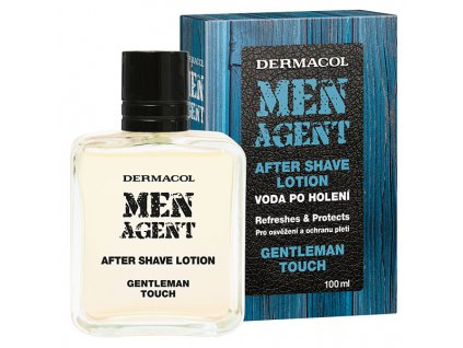 MEN AGENT After Shave GENTLEMAN KOMP