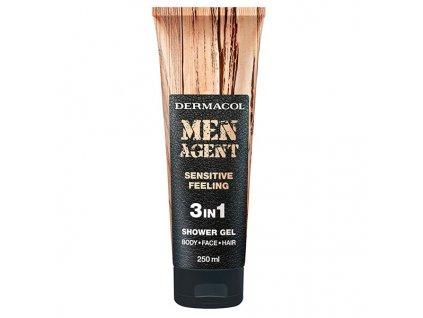 MEN AGENT Shower Gel SENSITIVE 8590031105963