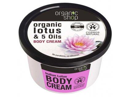 Eshopak 600x600 Organic Shop Tělový krém Indiánský lotos