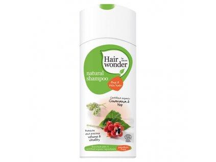 Hairwonder Přírodní šampon pro jemné vlasy 200 ml
