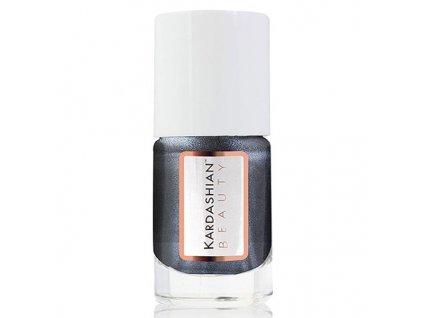Kardashian BeautyLak na nehty odstín Edge - Black (Nail Lacquer) 11 ml