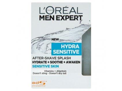 L'Oréal Paris Men Expert Hydra Sensitive voda po holení pro muže 100 ml