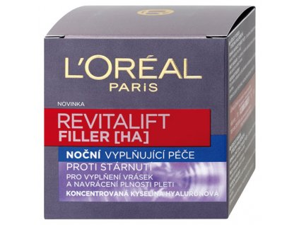 L'Oréal Paris Revitalift Filler [HA] noční vyplňující péče 50 ml