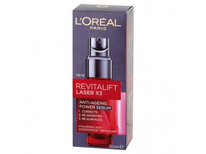 L'Oréal Paris Revitalift Laser X3 Anti-Ageing Power sérum proti stárnutí pleti 30 ml