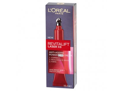 L'Oréal Paris Revitalift Laser X3 oční krém 15 ml