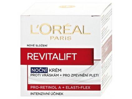 L'Oréal Paris Revitalift noční krém proti vráskám a pro zpevnění pleti 50 ml