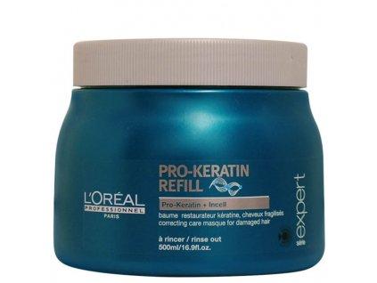 L'Oréal ProfessionnelSérie Expert Maska pro oslabené vlasy (Restore Keratin Mask) 500 ml