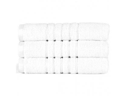 Brilliant froté ručník v bílé barvě (White) 50 x 100 cm