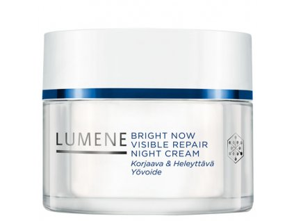 Lumene Bright Now Visible Repair Noční krém 50 ml