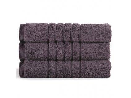 Brilliant froté ručník v šedé barvě (Graphite) 50 x 100 cm