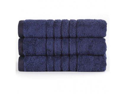 Brilliant froté ručník v tmavě modré barvě (Deep See) 50 x 100 cm