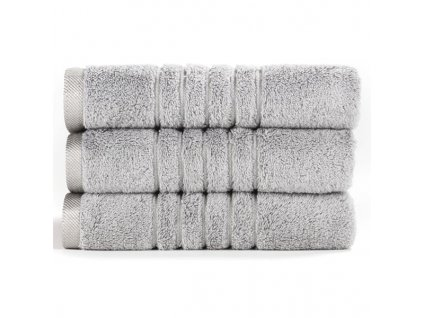 Brilliant froté ručník ve stříbrošedé barvě (Silver) 50 x 100 cm
