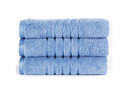 Brilliant froté ručník ve světle modré barvě (Light Blue) 50 x 100 cm