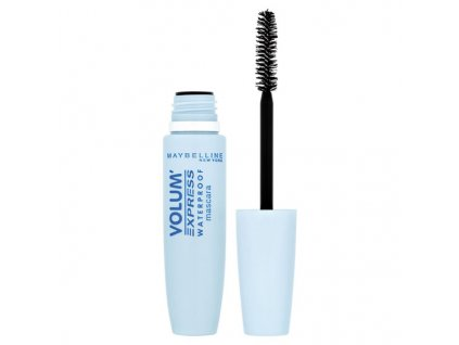 Maybelline Volum' Express Waterproof Black voděodolná řasenka 8,5 ml