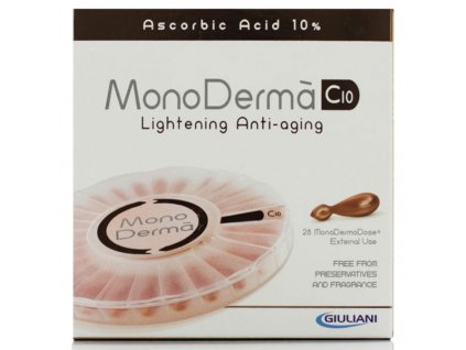 MonoDerma C10 vitamíny na pleť 28 kapslí