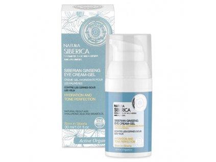 Natura Siberica Hydratační krém-gel na víčka proti tmavým kruhům pod očima 30 ml