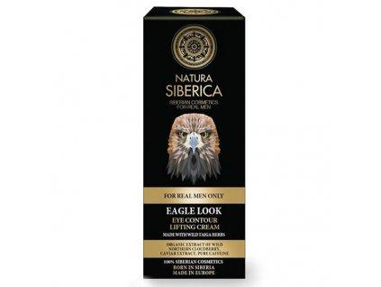 Natura Siberica Men Liftingový oční krém pro muže Orlí pohled 30 ml