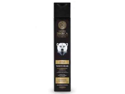 Natura Siberica Men Super osvěžující sprchový gel pro muže Lední medvěd 250 ml