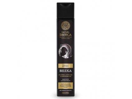 Natura Siberica Men Šampon pro růst vlasů pro muže Beluga 250 ml