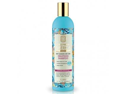 Natura Siberica Professional Rakytníkový šampon pro normální a mastné vlasy 400 ml