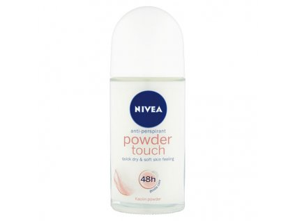 Nivea Kuličkový roll-on antipespirant Powder Touch 50 ml