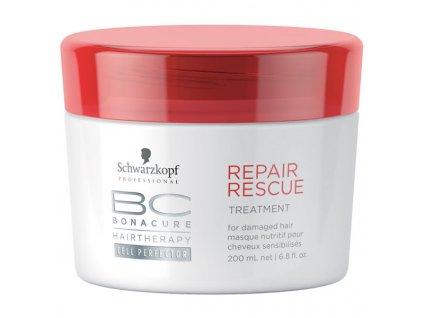 Schwarzkopf Professional BC Bonacure Maska pro poškozené vlasy (Repair Rescue Treatment) 200 ml