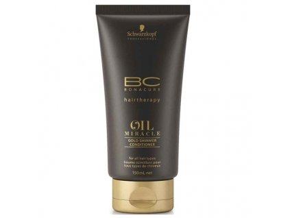 Schwarzkopf Professional BC Bonacure Regenerační kondicionér pro všechny typy vlasů (Oil Miracle Gold Shimmer Conditioner) 150 ml