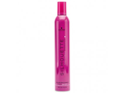 Schwarzkopf Professional Silhouette Vlasová fixační pěna (Color Brillance Super Hold Mousse) 500 ml