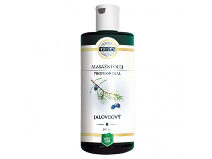 Topvet Jalovcový masážní olej Professional 200 ml