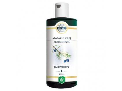Topvet Jalovcový masážní olej Professional 200 ml ex. 12/2018