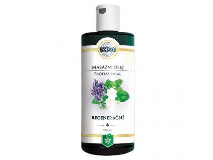 Topvet Regenerační masážní olej Professional 200 ml