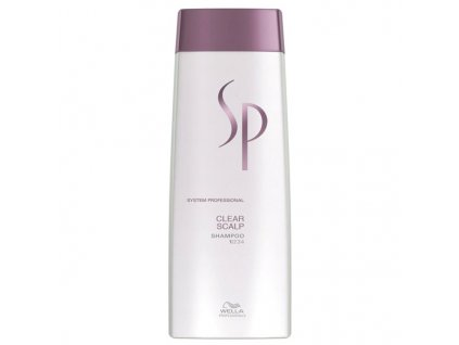 Wella Professionals System Professional Šampon pro ošetření pokožky (Clear Scalp Shampoo) 250 ml