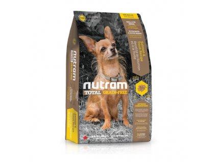 Nutram T28 Total Grain Free Salmon Trout Dog bezobilné krmivo pro psy malých plemen (losos a pstruh)