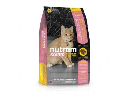 Nutram S1 Sound Kitten krmivo pro koťata 1,8 kg