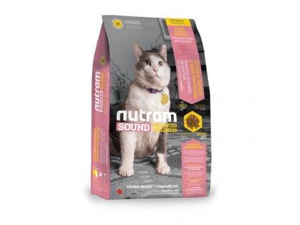 Nutram S5 Sound Adult/Senior Cat krmivo pro dospělé a starší kočky