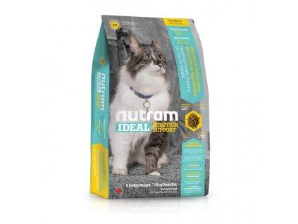 Nutram I17 Ideal Indoor Cat krmivo pro kočky chované v bytě