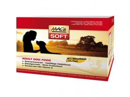Macs Soft Dog měkké krmivo pro dospělé psy (kuřecí)