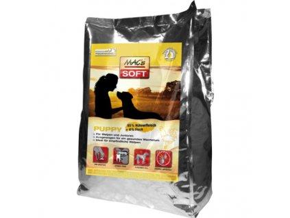 Macs Soft Dog měkké krmivo pro štěňata (kuřecí) 3x 5 kg