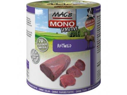 Macs Dog Mono Sensitive masová konzerva pro psy (zvěřina)