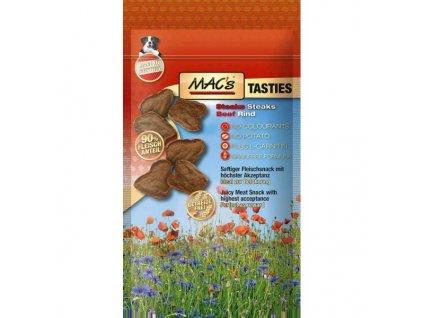 Macs Dog Tasties Stejčky měkký masový pamlsek pro psy 60 g