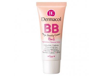 Dermacol Hydratační tónovací krém 8v1 (BB Magic Beauty Cream 8in1) 30 ml (Odstín Sand)