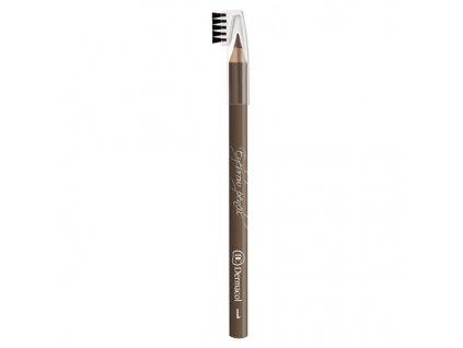 Dermacol Jemná tužka pro zvýraznění obočí (Soft Eyebrow Pencil) 1,6 g (Odstín č.01)
