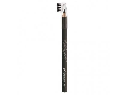Dermacol Jemná tužká pro zvýraznění obočí (Soft Eyebrow Pencil) 1,6 g (Odstín 3)